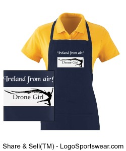 Waiter Apron with Pockets Design Zoom
